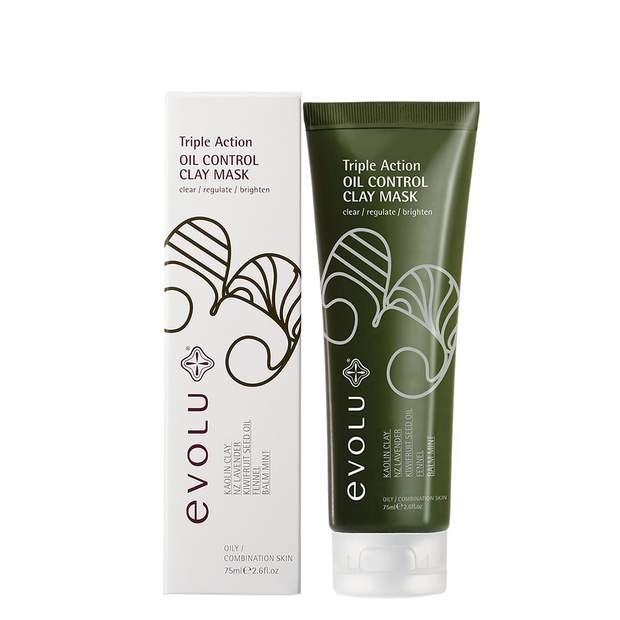 EVOLU TRIPLE-ACTION OIL CONTROL CLAY MASK
