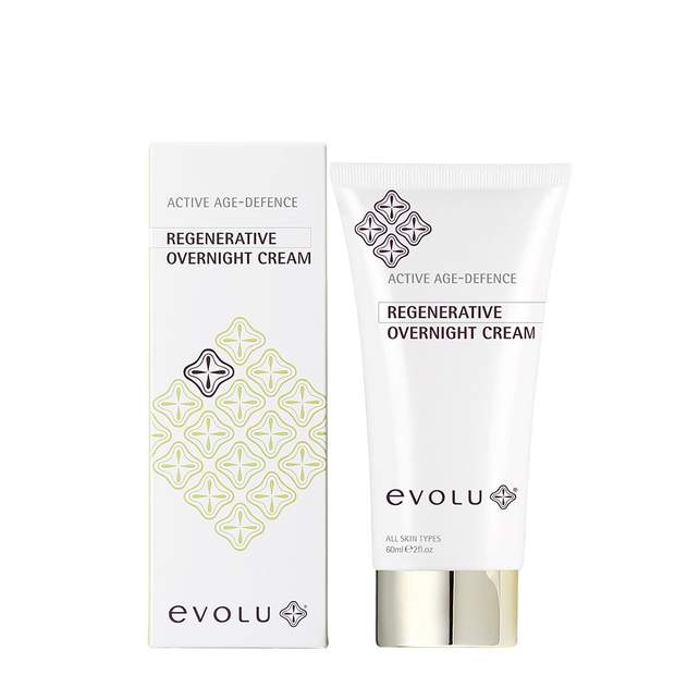 EVOLU ACTIVE AGE-DEFENCE REGENERATIVE OVERNIGHT CREAM